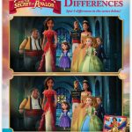 Disney Elena of Avalor Spot the Differences Activity Page