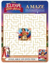 Disney Elena And The Secret of Avalor Maze