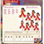 Disney Elena of Avalor Puzzle Activity Page