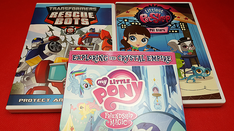 Shout Factory TV Cartoon DVDs