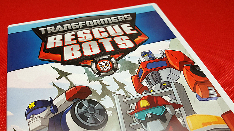 Transformers Rescue Bots Shout Factory Kids' TV DVDs