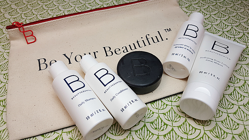 Beauty Counter Travel Collection