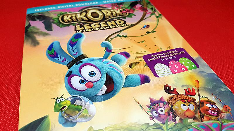 Kikoriki: Legend Of The Golden Dragon DVD