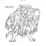 Beauty And The Beast Coloring Page – The Beast