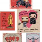 Free Game of Thrones Printable Valentine's Day Cards