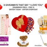 6 Giveaways That Say I Love You – Ending 2/10/17