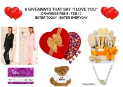 6 Giveaways to Say I Love You