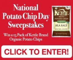 potato chip sweepstakes