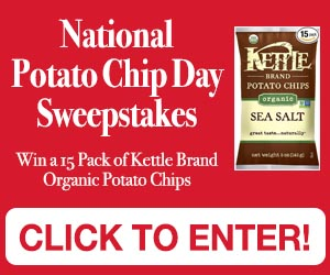 National Potato Chip Day Sweepstakes