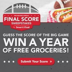 S&F Super Bowl Final Score 3
