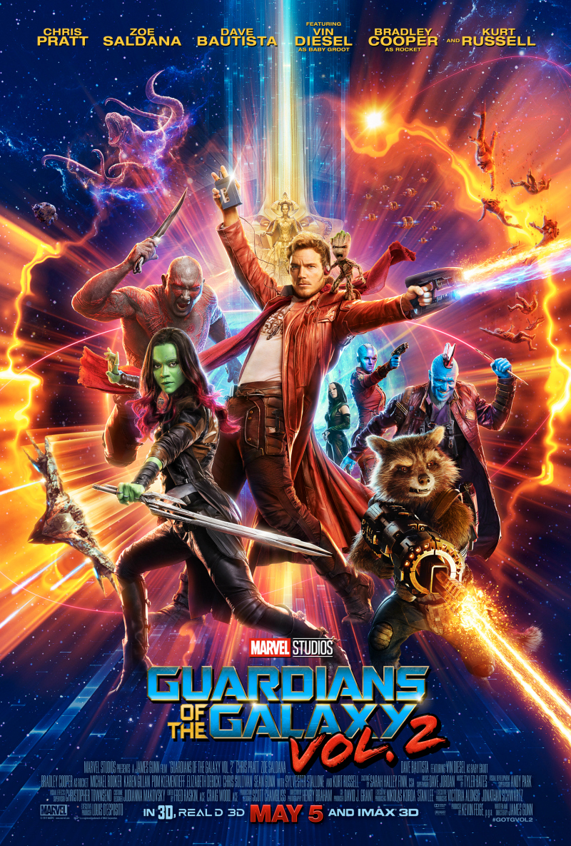 New Guardians of the Galaxy Trailer and Poster