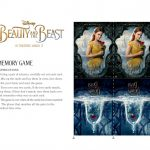 Free Disney Beauty and The Beast Memory Match Game