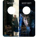 Beauty and The Beast Door Hanger Craft