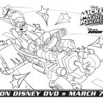 Disney Goofy Coloring Page