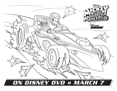 Disney Donald Duck Coloring Page