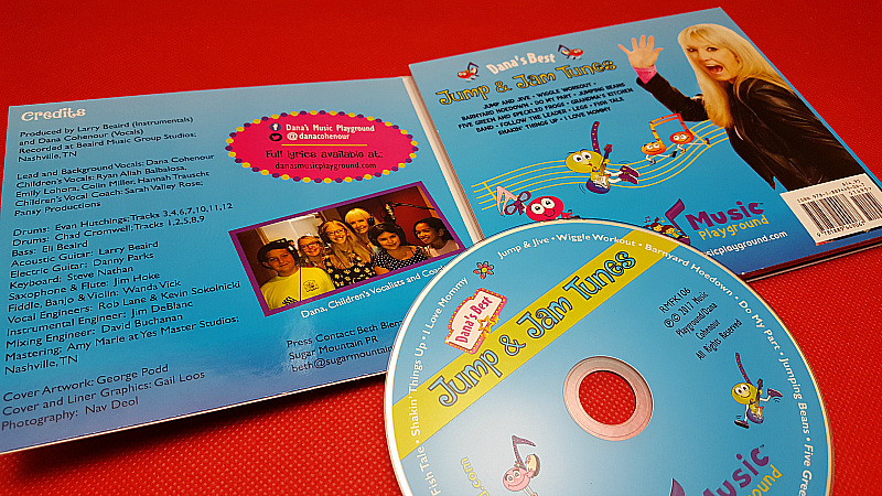 Jump & Jam Tunes Children's CD
