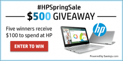 HP Giveaway