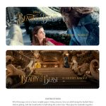 Free Disney Beauty and The Beast Bookmark Craft