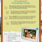 Spirit Riding Free Friendship Frame Craft