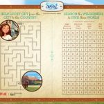 Spirit Riding Free Printable Activity Page