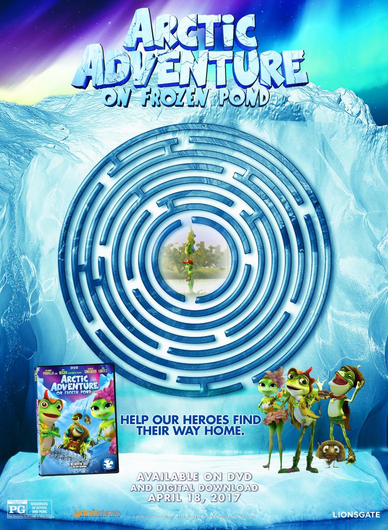Free Printable Arctic Adventure Maze
