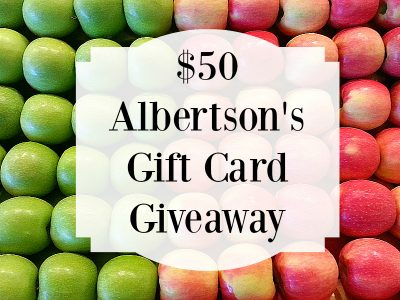 Giveaway – $50 Albertson's Gift Card #MyMixxv17 – Ends Ends 4/22/17
