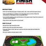 Free Printable Disney Cars Board Game