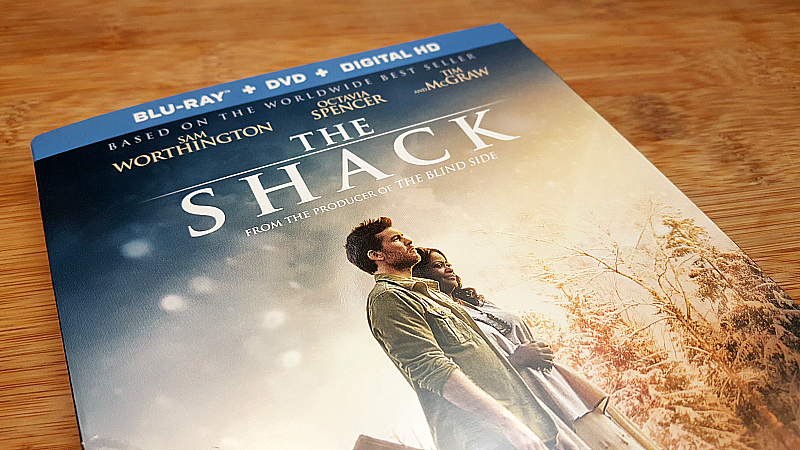 The Shack Blu-ray DVD
