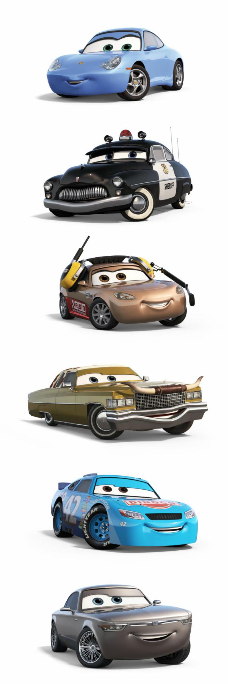 Disney Pixar Cars 3 Characters