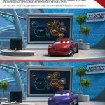 Disney Cars Spot The Differences Activity Page
