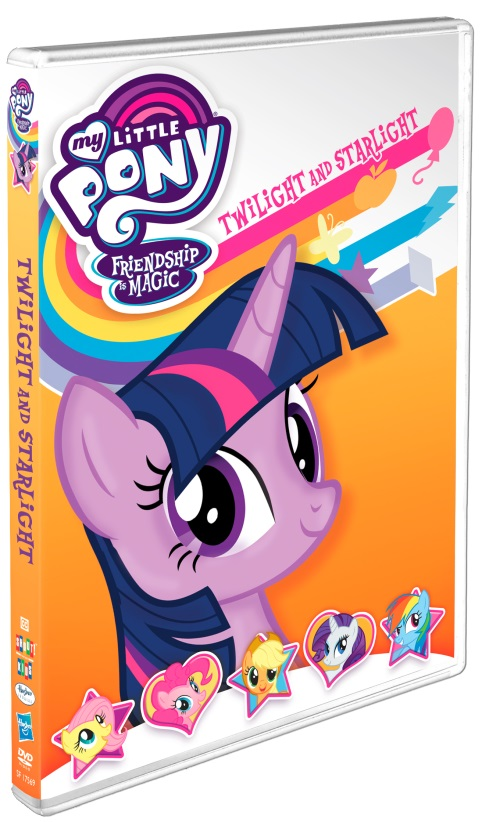 My Little Pony Twilight and Starlight DVD