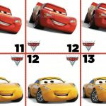 Free Cars 3 Disney Crazy 8 Card Game