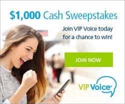 VIPVoice Sweepstakes