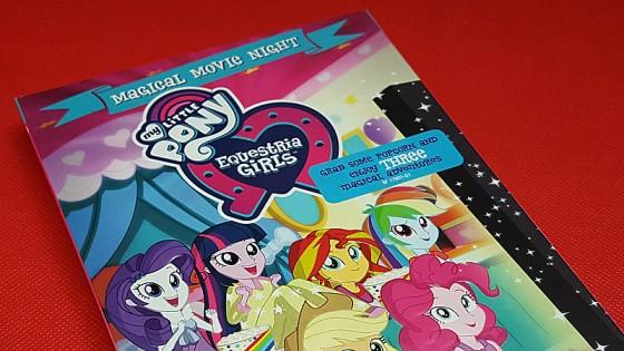 My Little Pony Equestria Girls Magical Movie Night DVD