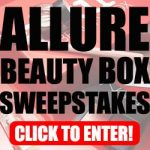 Allure Beauty Box Sweepstakes – Ends 9/9/17