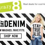 Crazy 8 Denim Collection for Back To School