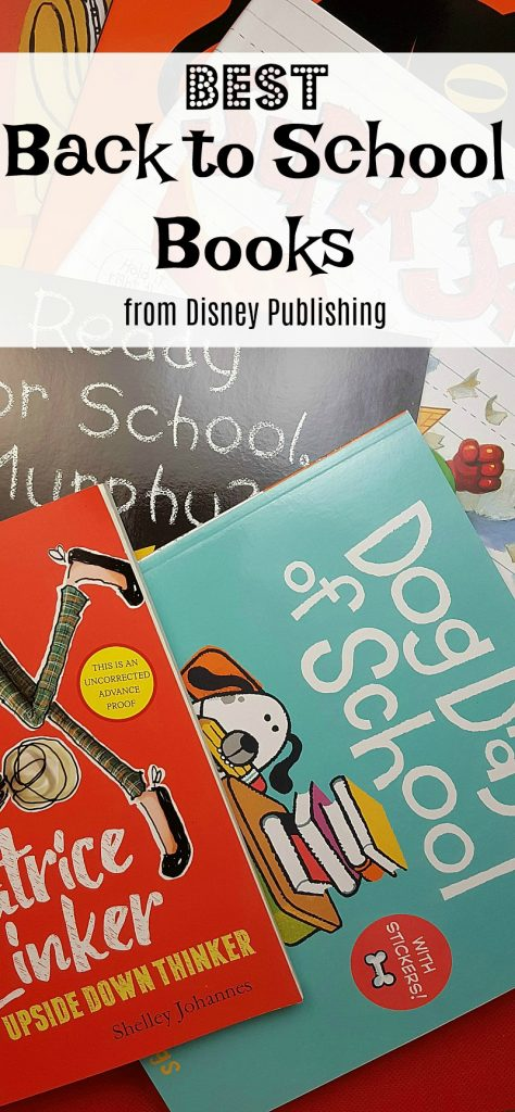 Best Back To School Books From Disney Publishing AD