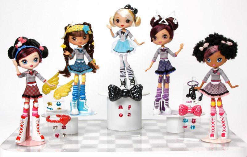 Gwen Stefani's Kuu Kuu Harajuku Fashion Dolls