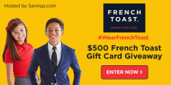 French Toast Gift Card Giveaway