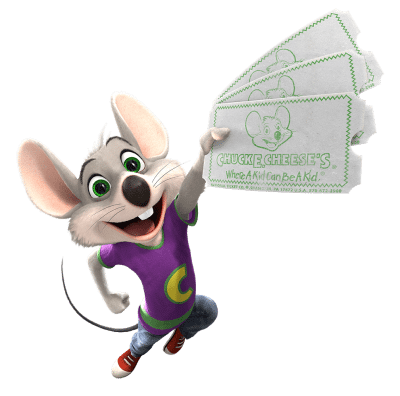 Chuck E. Cheese's 20 for 20 Offer