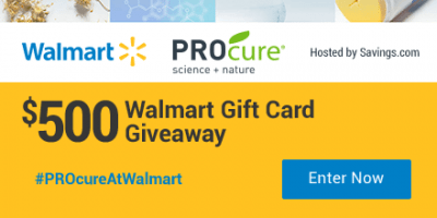 $50 Walmart Gift Card Giveaway – 10 Winners – Ends 8/8/17
