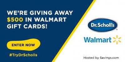 Walmart Gift Card Giveaway – 10 Winners – Ends 8/27/17
