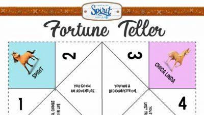Spirit Riding Free Fortune Teller Craft