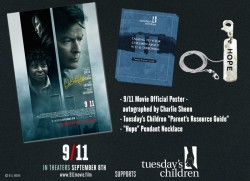 9 11 Movie Prize Package