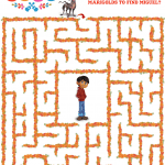 Free Disney Pixar Coco Maze Activity Page