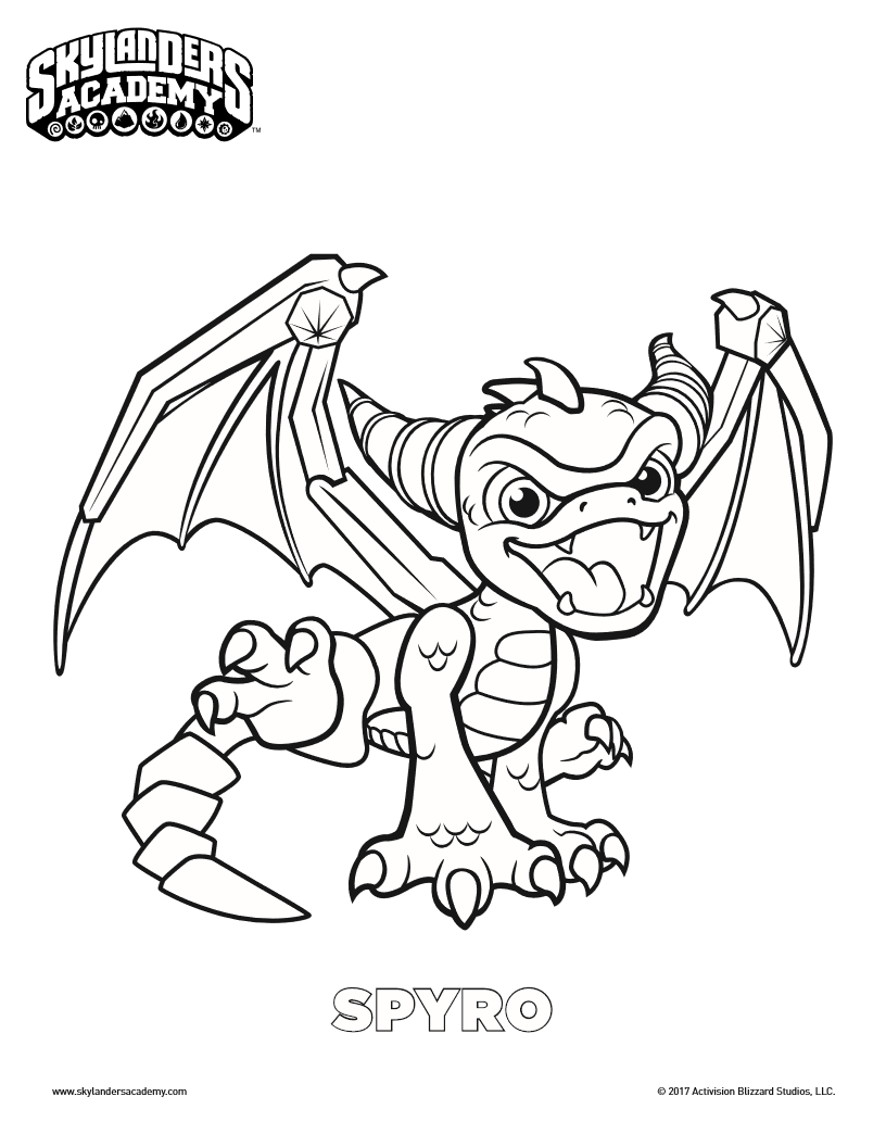 Skylanders Coloring Pages Pdf: Skylanders swap force undead phantom ...