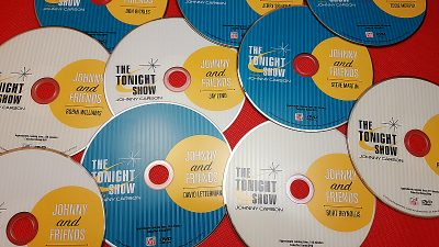 The Tonight Show Johnny and Friends 10 Disc DVD Box Set