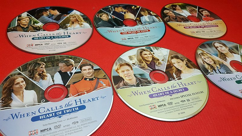 When Calls The Heart 6 Movie DVD Collection