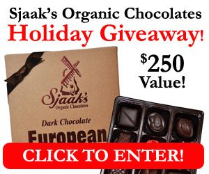 Sjaak's Organic Chocolate Giveaway