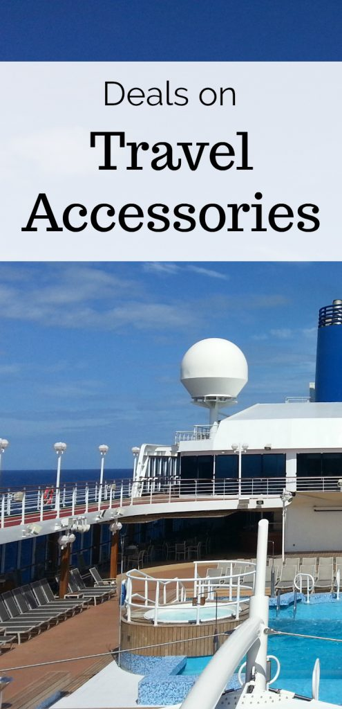 Deals on Travel Accessories for your next cruise, flight or road trip